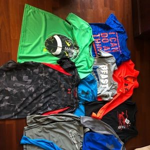 Other - Bundle of 10 Youth Nike and UA shirts